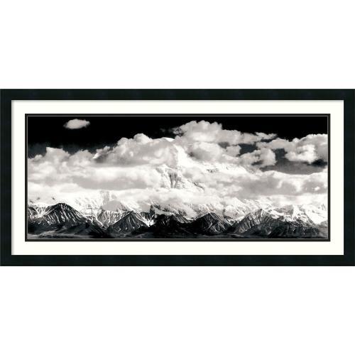 Ansel Adams Mount McKinley Range, Clouds, Denali National Park, Alaska, 1948 Office Art