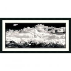 Ansel Adams - Ansel Adams Mount McKinley Range, Clouds, Denali National Park, Alaska, 1948 Office Art