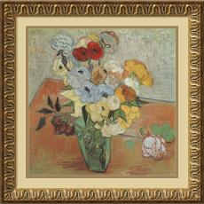 Vincent van Gogh - Vincent van Gogh Roses and Anemones Office Art