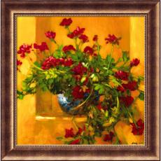 Fine Art - Philip Craig Ivy Geraniums Office Art