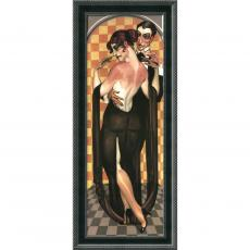 Closeout and Sale Center - Juarez Machado Art Deco Evening Office Art