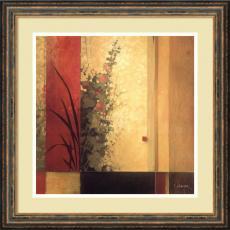 Geometric - Don Li-Leger Hollyhock Garden Office Art