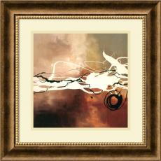 Abstract - Laurie Maitland Copper Melody II Office Art