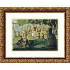 Georges Seurat Sunday Afternoon on the Island of La Grande Jatte , 1884-1886 Office Art