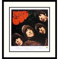 The Beatles: Rubber Soul (album cover) Office Art