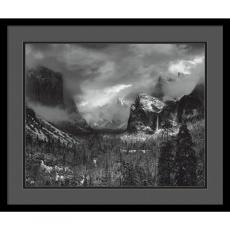 Ansel Adams - Ansel Adams Clearing Winter Storm Office Art