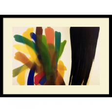 Abstract - Morris Louis Winged Hue II Office Art