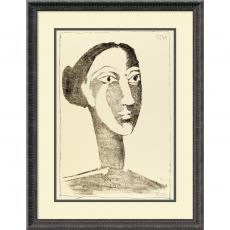 All Motivational Posters - Pablo Picasso Head of a Woman with a Chignon Office Art