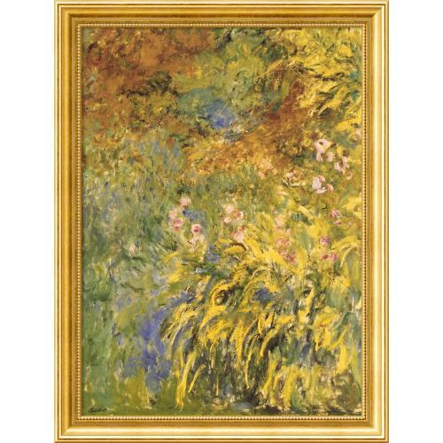 Claude Monet Irises Office Art