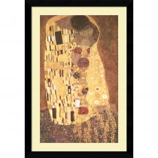 Gustav Klimt - Gustav Klimt The Kiss (Le Baiser / Il Baccio), 1907 Office Art