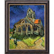 Vincent van Gogh - Vincent van Gogh The Church at Auvers, 1890 Office Art