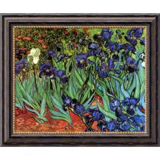 All Motivational Posters - Vincent van Gogh Irises In The Garden Office Art