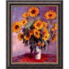 Closeout and Sale Center - Claude Monet Sunflowers, 1881 Office Art