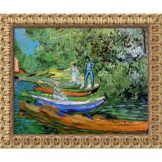 Closeout and Sale Center - Vincent van Gogh Bank of the Oise at Auvers, 1890 Office Art