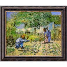 Vincent van Gogh First Steps, 1890 Office Art