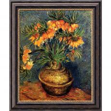 Vincent van Gogh - Vincent van Gogh Crown Imperial Fritillaries in a Copper Vase, 1886 Office Art
