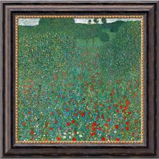 Gustav Klimt - Gustav Klimt Field of Poppies (Campo di Papaveri) Office Art