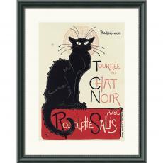 Theophile Alexandre Steinlen Tournee du Chat Noir (White) Office Art