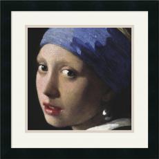 Johannes (Jan) Vermeer Girl with a Pearl Earring (detail) Office Art