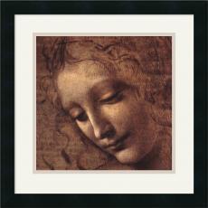 Leonardo da Vinci Testa di Faniciulla Detta (detail) Office Art