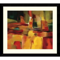 Abstract - Nancy Ortenstone Harmonious Space Office Art