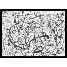 All Motivational Posters - Jackson Pollock Number 14:Gray Office Art