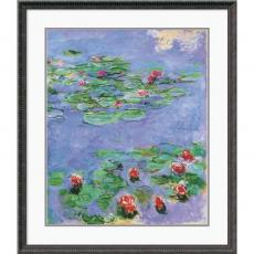 Claude Monet Water Lilies, c. 1914-1917 Office Art