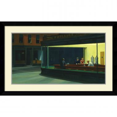 Edward Hopper Nighthawks, 1942 Office Art