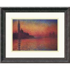 Claude Monet Dusk, Sunset in Venice, 1908 Office Art