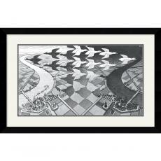 M. C. Escher Day and Night Office Art