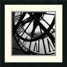 Black & White - Tom Artin Orsay Clock Office Art