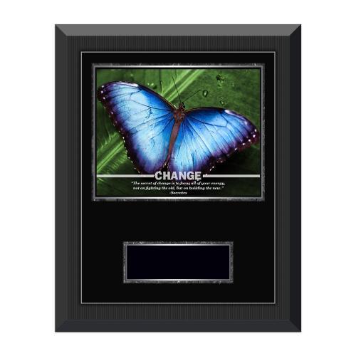 Change Butterfly Gunmetal Individual Award Plaque