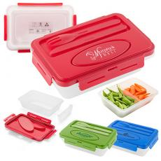 Tradeshow & Event Supplies - Lightweight and compact 2-piece lunch container, BPA free
