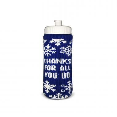 Thanks for All You Do Holiday Sweater Drink Wear & Bottle