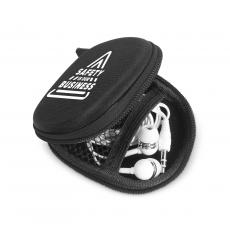 Staff Appreciation - Safety is Our Business Tech Pouch with Earbuds