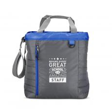 Staff Appreciation - Behind Every Great School Quilted Cooler Tote