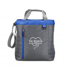 Nurses Gifts - Nurses Touch Hearts Quilted Cooler Tote