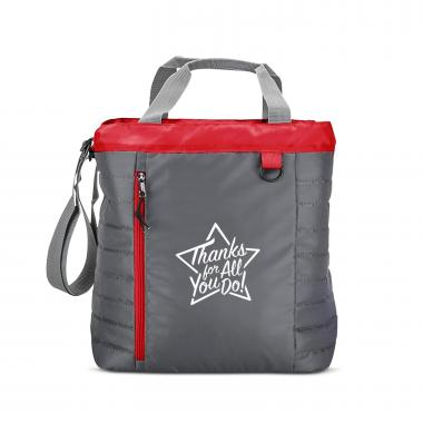 Thanks for All You Do Star Quilted Cooler Tote