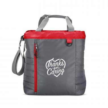 Thanks for Caring Quilted Cooler Tote