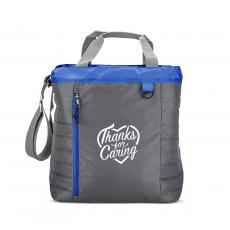 Staff Appreciation - Thanks for Caring Quilted Cooler Tote