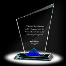 Trophy Awards - Keystone Torch Crystal Award