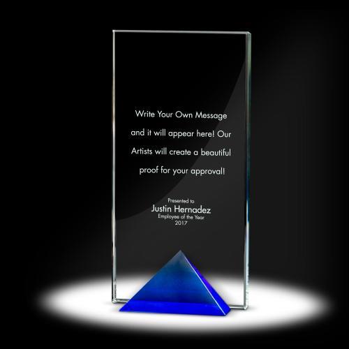 Keystone Tower Crystal Award