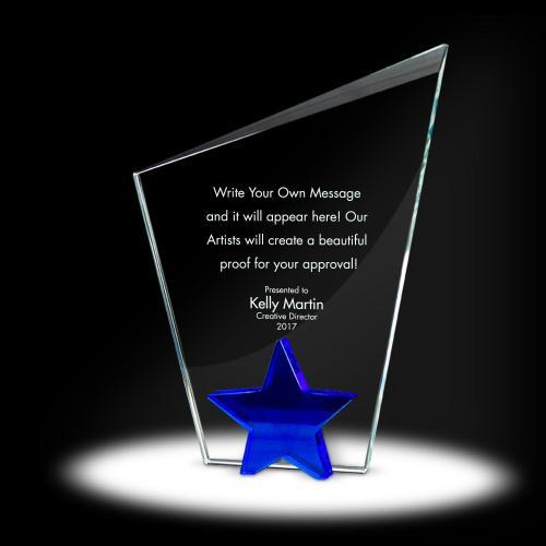 Star Torch Crystal Award
