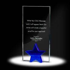 Trophy Awards - Star Tower Crystal Award