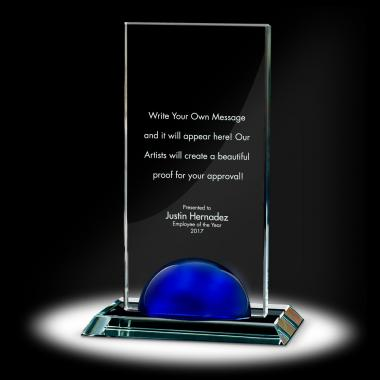 Sphere Tower Crystal Award