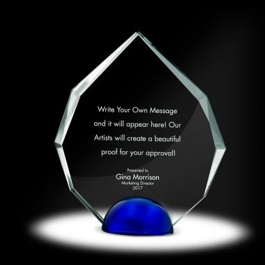 Sphere Radiant Crystal Award