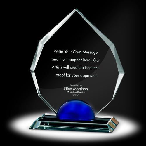 Sphere Radiant Crystal Award