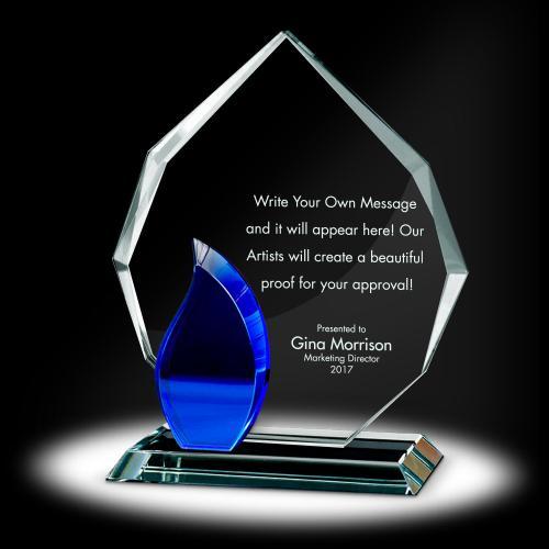 Flame Radiant Crystal Award
