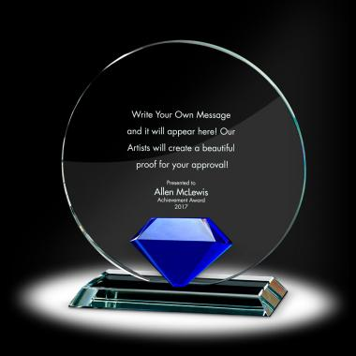Diamond Circle Crystal Award