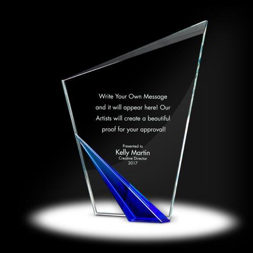 Spire Torch Crystal Award
